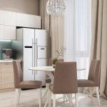 ЖК Бавария - Новосибирск - Кухня-гостиная