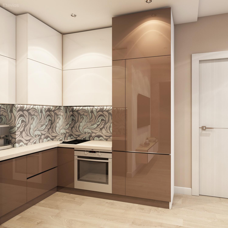 ЖК Оазис - Новосибирск - Кухня-гостиная